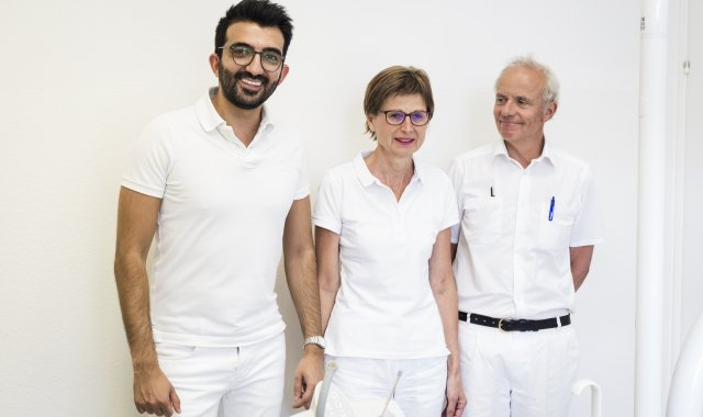 Dr. Basharat, Frau und Herr Dr. Trost